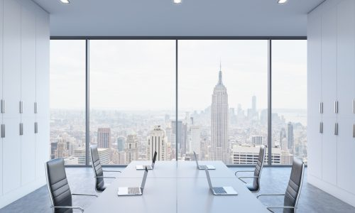 Office With City View